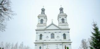 Андреевский костел в Лынтупах