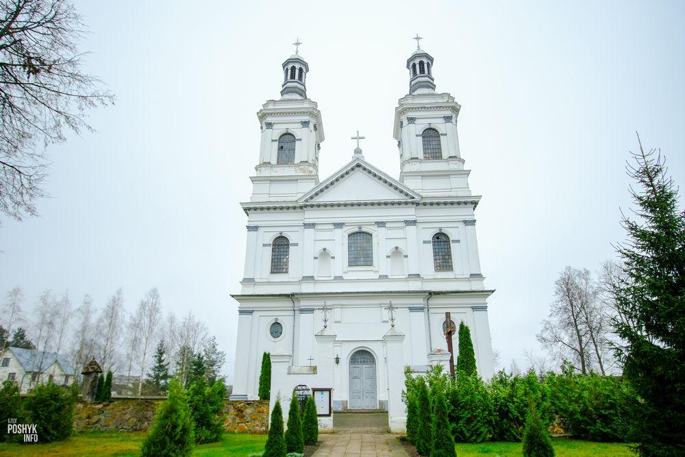 Костел в Лынтупах