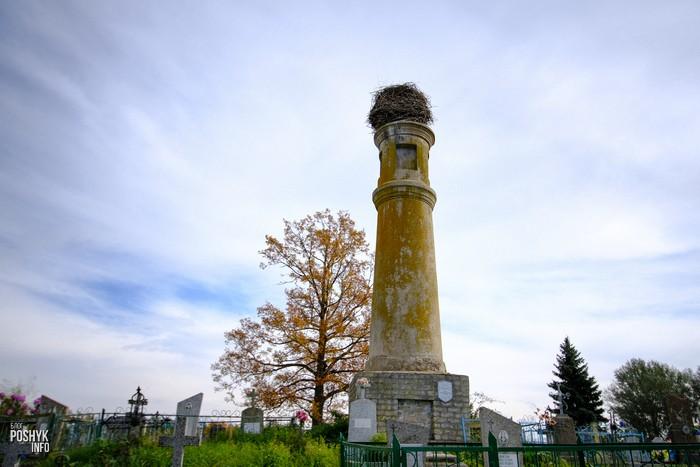 Глубокое Мемориальная колонна в честь Конституции Речи Посполитой