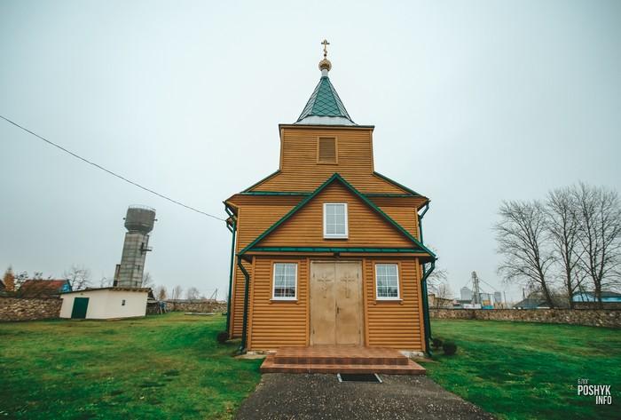 Деревянный храм в Кгягинене