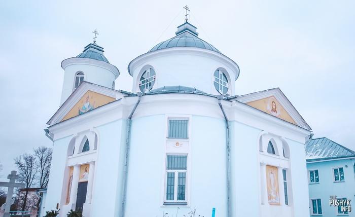 Церковь в деревне Вейно Беларусь