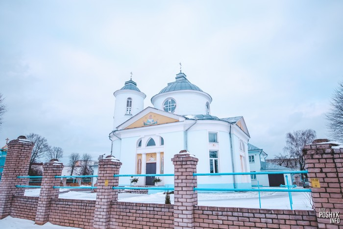 Церковь в деревне Вейно, Могилевская область