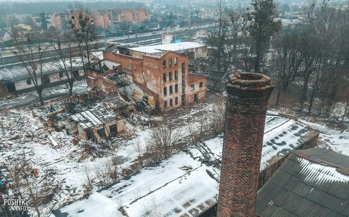 Заброшенные места в Бобруйске