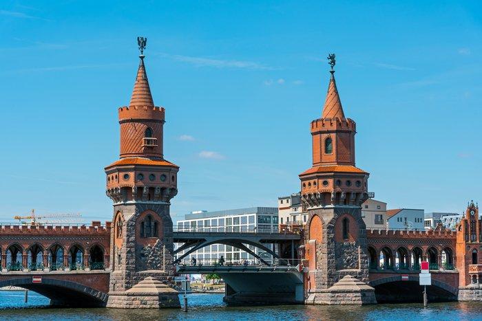 Город мостов Берлин
