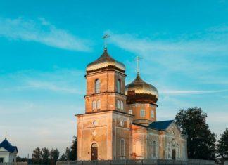 Церковь в агрогородке Черетянка