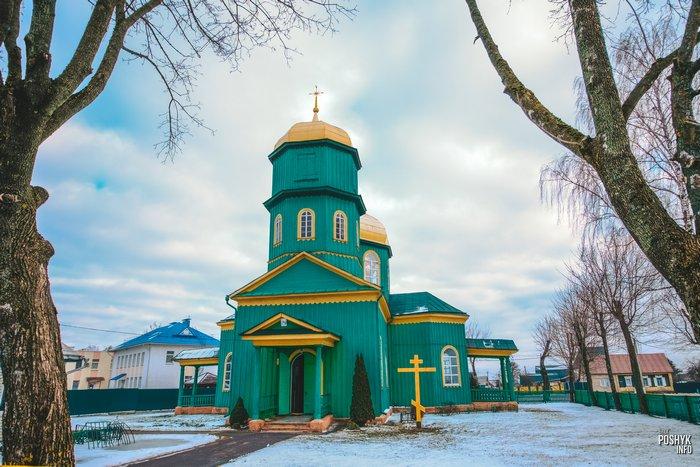 Деревянная церковь в городе Быхов