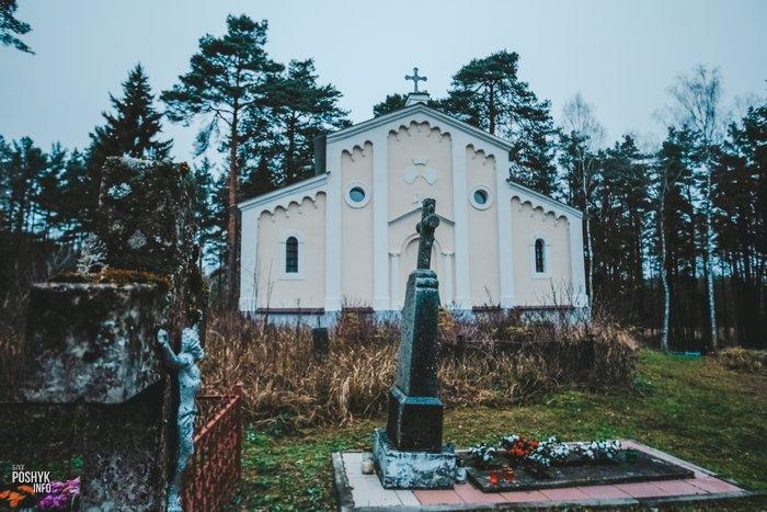 Кладбище в Михалишках