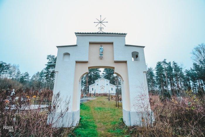 Михалишки брама на кладбище