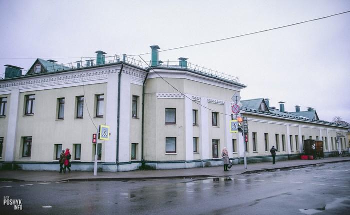 Бывшая синагога в Бобруйске по улице Пушкина 110