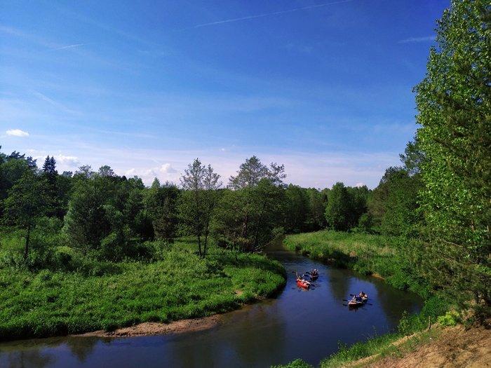 Сплавы на байдарках по рекам Беларуси