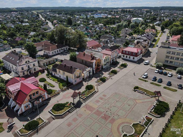 Центральная площадь Дятлово