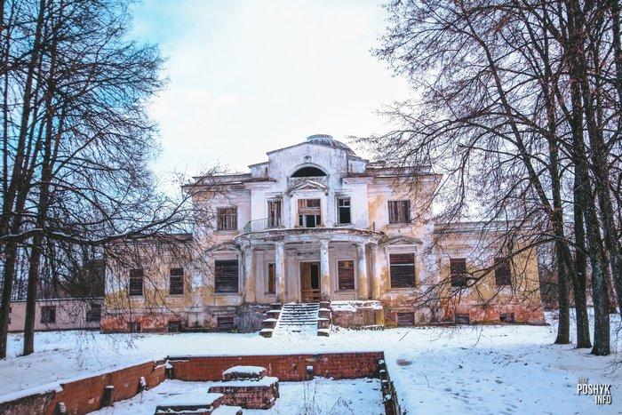 Усадьба Толстых в деревне Грудиновка