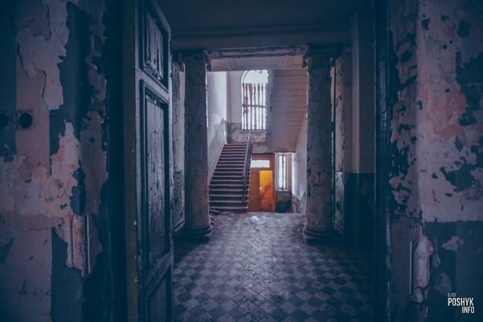 Заброшенная усадьба Толстых в Грудиновке