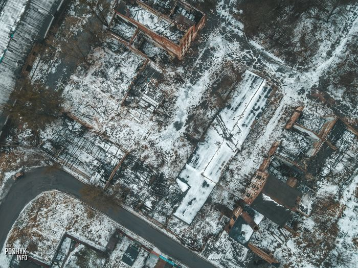 Заброшенные здания в Бобруйске