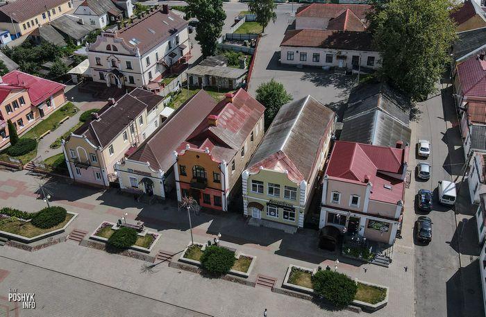Центральная площадь в Дятлово