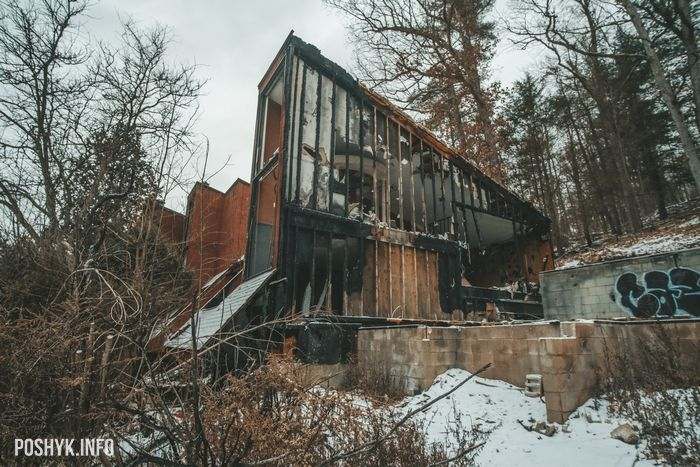 Pocono Mountains abandoned USA