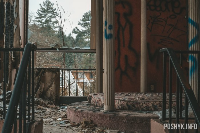 Pocono Mountains abandoned USA