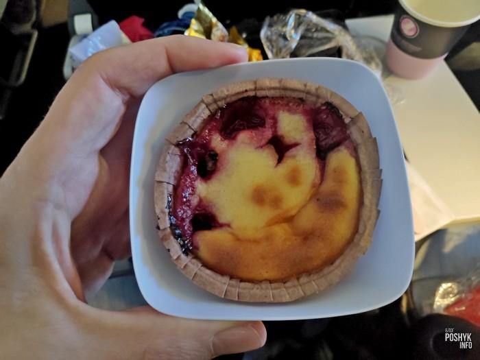 Десерты на рейсах AF