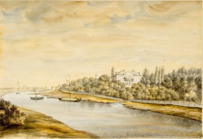 Дворец Хальч, Наполеон Орда