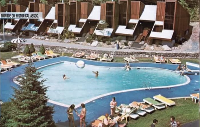 penn hills resort old photo