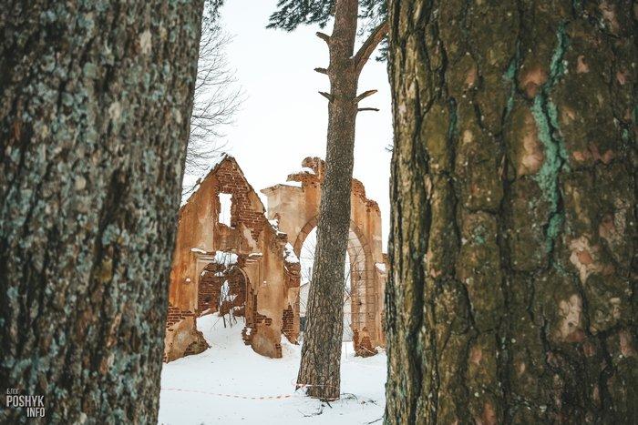 Руины в Станьково