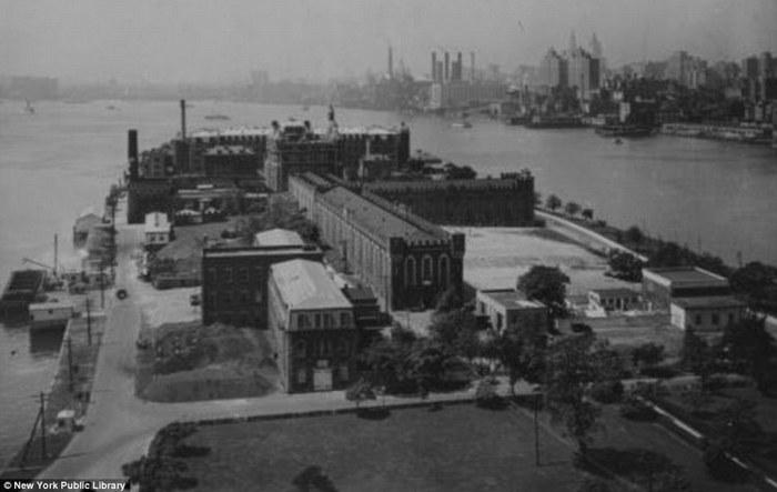 Старый снимок Остров Рузвельта в Нью-Йорке