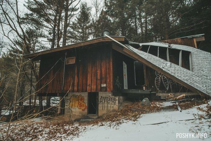 Заброшенный отель Penn Hills Resort в штате Пенсильвания, США