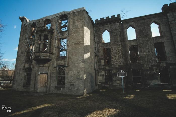 Заброшенный госпиталь на острове Рузвельта