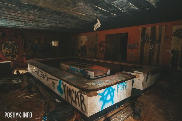 Заброшенный отель в США