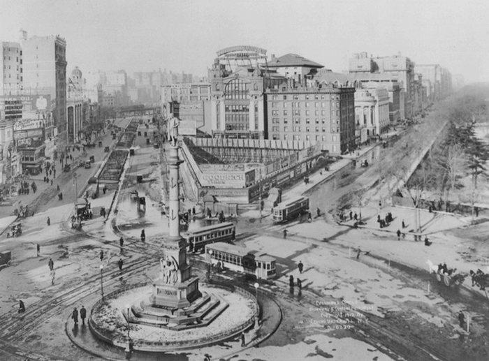 История центрального парка в Нью Йорке