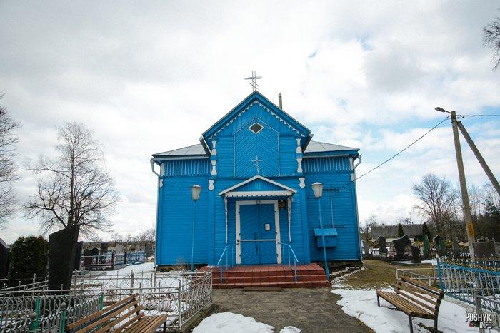 Церковь в деревне Лань