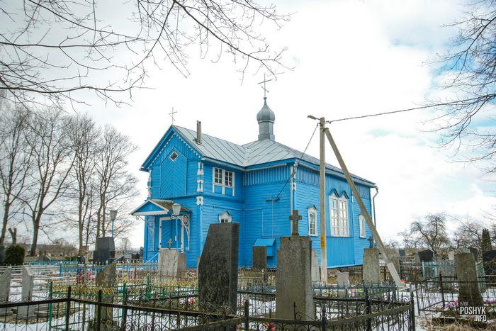 Церковь Покровская в агрогородке Лань