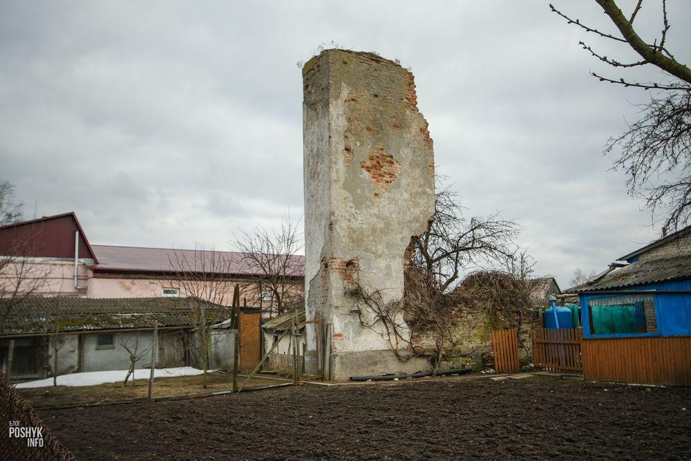 Кальвинский сбор костел в Клецке руины