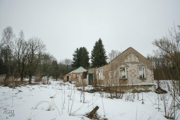 Заброшенный лагерь под Минском