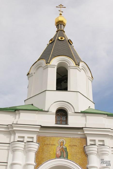 Церковь на улице Сторожевской Минск