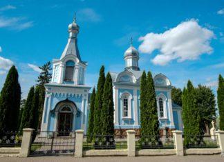 Церковь в городе Щучин