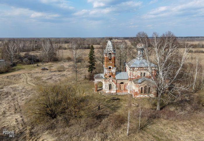 Заброшенный храм в Беларуси