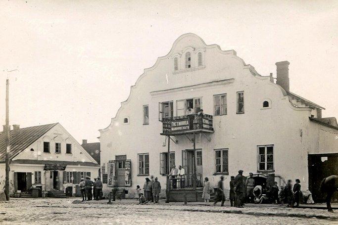 Дом ремесленника 1721 года в центре Несвижа