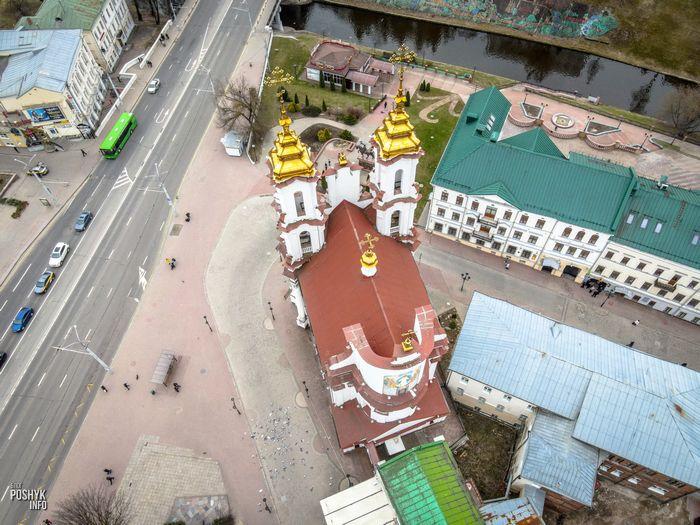 Воскресенская церковь в Витебске по образцу храма 1772 года
