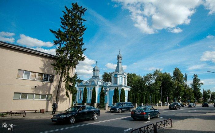 Храм в Щучине