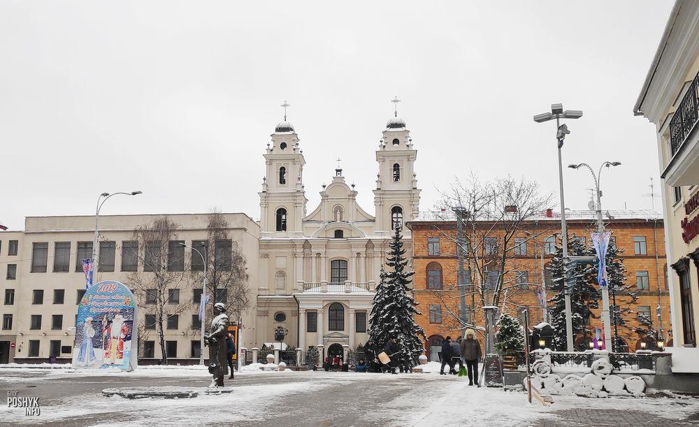 Монастырь иезуитов и костел Девы Марии в Минске