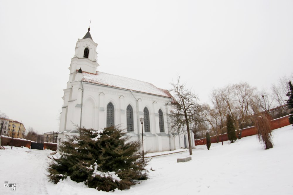 Костел Святого Роха в Минске: тайны Золотой Горки