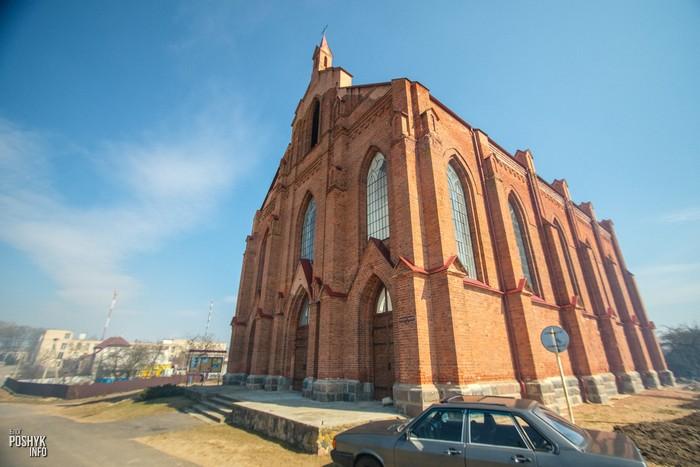 Костел святого Лаврентия Ушачи