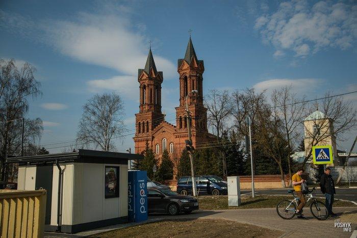 Костел святой Барбары Витебск