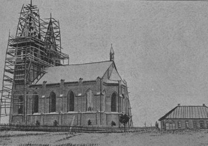 Костел в поселке Ушачи