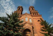 Костел святой Варвары в городе Витебск