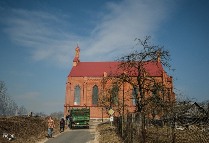 Костел святого Лаврентия Ушачи Беларусь