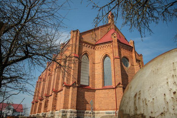 Костелы Беларуси Ушачи