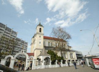 Петропавловский собор в Минске на Немиге