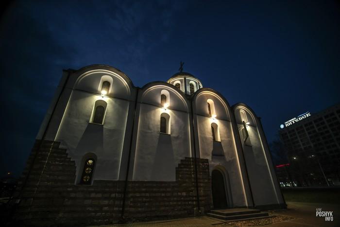 Старинная церковь Витебска